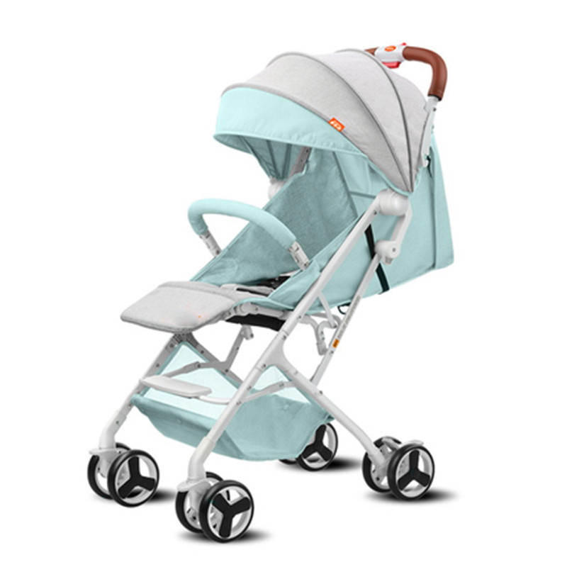 все цены на Baby lightweight strollers 2 in 1 aluminum alloy outdoor traveling baby buggy онлайн