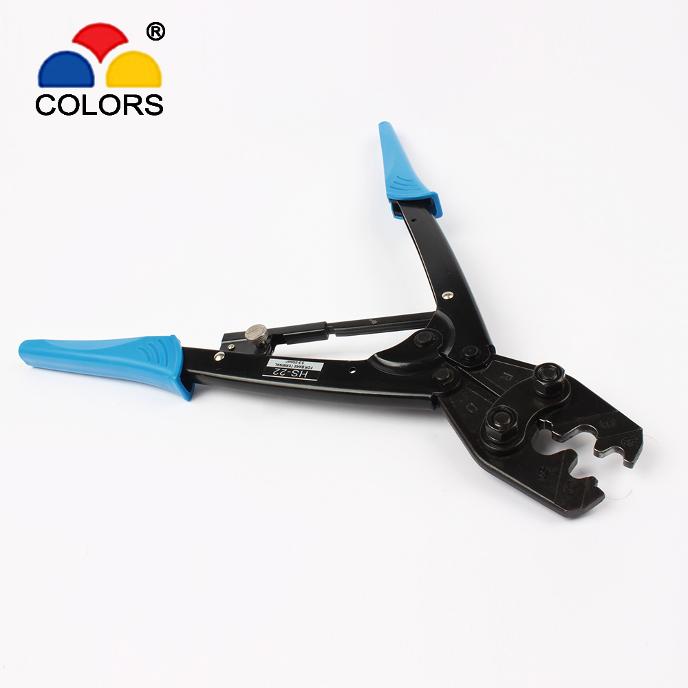 FASEN HS-22 5.5-25mm2 CRIMPING PILER FOR terminal CRIMPING PLIERS RATCHET crimping tools pliers JAPANESE STYLE цены