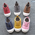New 2016 Spring Baby Canvas Casual Shoes Soft High Quality Girl Boy First Walkers Candy Color Kids Shoes #2920