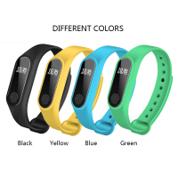 Waterproof Smart Wristband Smart Band OLED Touch Screen BT 4.0 Bracelet Fitness Tracker Heart Rate/Sleep Monitoring Pedometer