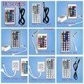 Мини-Инфракрасный пульт дистанционного управления  24 ключа/44 ключа  с двумя головками  USB  беспроводной  ИК-пульт дистанционного управления  ...
