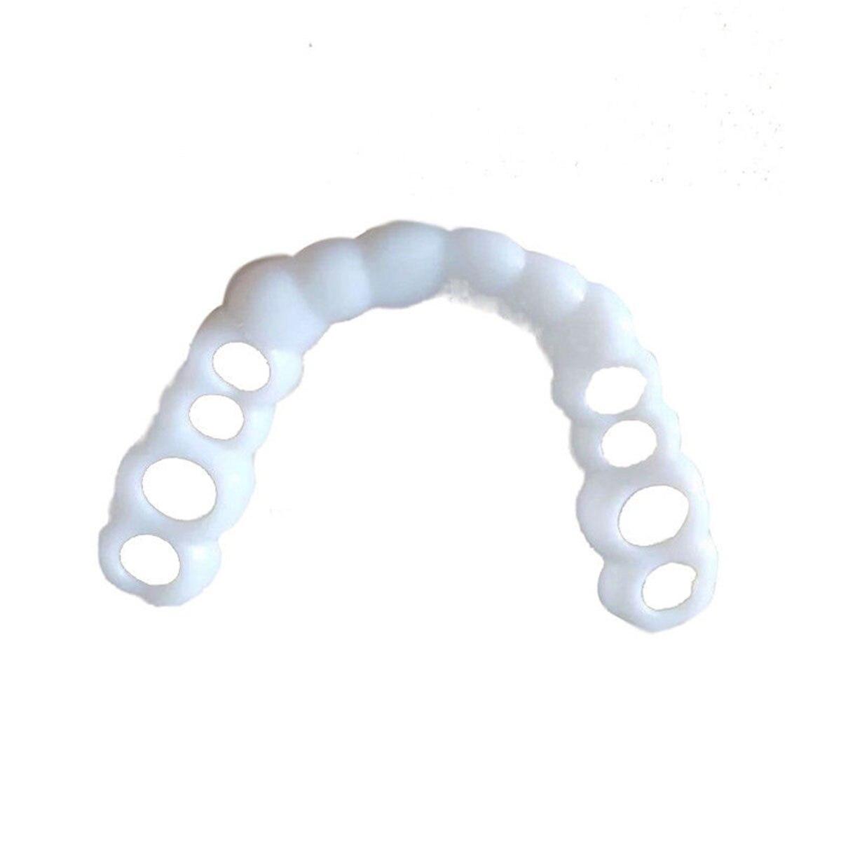 JEYL  Smile Comfort Fit Flex Cosmetic Teeth Denture Teeth Top Cosmetic Veneer 4