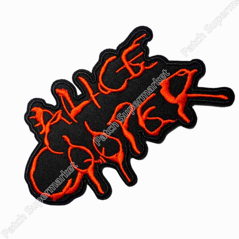 Alice Cooper Fashion Embroidered Iron On Sew On Patch Rock Band COSTUME PATCH EMBLEM Free shipping