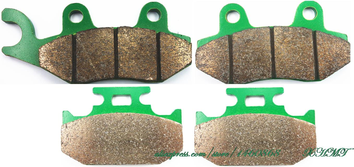 Тормозные колодки комплект для Сузуки ДЖЕБЕЛЬ 250 1993 и старше/ д-350 DR350 1990 и старше/ д-350 С-Ш-се 1993 1994 1995 1996 1997
