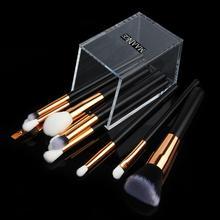 Transparent Makeup Brush Holder Acrylic Case Organizer Conta