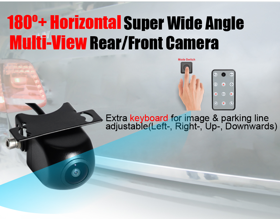 PARKVISION 180 -190 Degree Horizontal Wide Angle Viewing