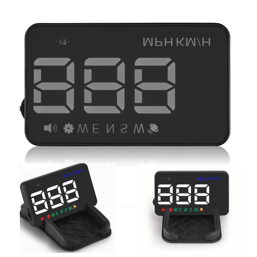 """2017 m. Naujas A5 """"Head Up"""" ekranas 3,5 colio GPS automobilio - Automobilių Elektronika - Nuotrauka 1"""