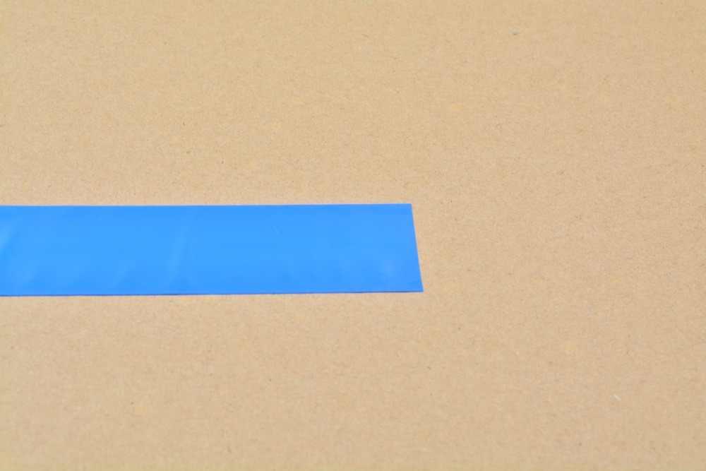 Achatamento largura 33mm transparente preto azul branco muitas cores pvc calor tubo do psiquiatra da bateria do cartucho crosta 1 pcs