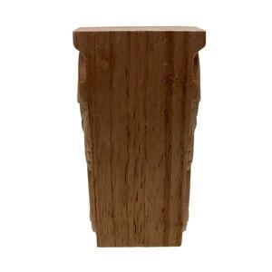 Image 5 - Unpainted VZLX Vintage Madeira Esculpida Onlay Canto Applique Porta Do Armário Quadro Fundo Da Parede de Casa Decoração Artesanato Mobiliário Pernas