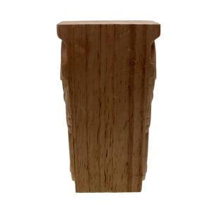 Image 5 - VZLX בציר לא צבוע עץ מגולף Onlay פינה אפליקצית דלת ארון קיר בבית רקע מסגרת אמנות עיצוב רגלי רהיטים