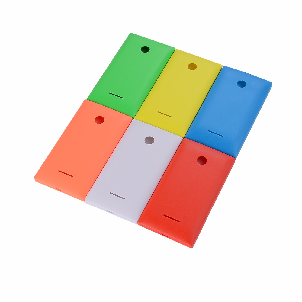 New Battery Door Back Cover Housing Case For Microsoft Nokia Lumia 435 532  Battery Housing Cover With Power Volume Buttons
