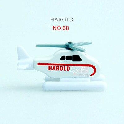 EDWONE деревянный магнитный Поезд Самолет деревянная железная дорога вертолет автомобиль грузовик аксессуары игрушка для детей подходит Дерево Biro треки подарки - Цвет: 68