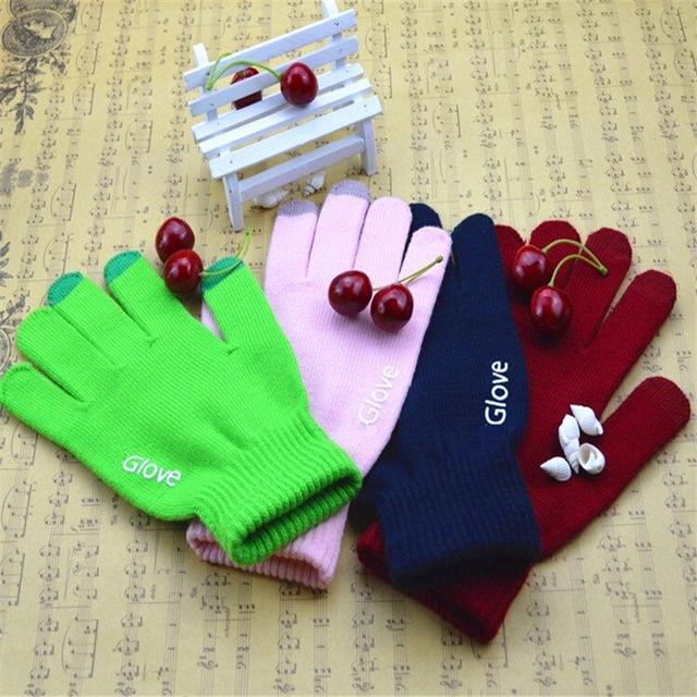 Moda ekran dotykowy rękawice telefon komórkowy smartphone rękawice jazdy ekran rękawica prezent dla mężczyzn kobiet zima ciepłe rękawice