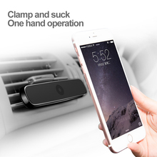 Baseus phone GPS Holder for iphone5 6 6S7 Samsung HUAWEI car Air Vent Mount Mobile Stand Magnete Magnetico Supporto Del Telefono