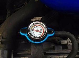 Image 3 - Free Shipping Temperature Gauge with Utility safe 0.9 and 1.1 and 1.3 bar Thermo Radiator Cap Tank Cover without logo