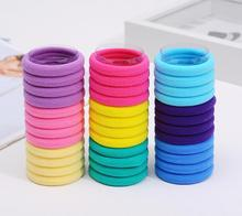 10pcs/lot  kids Candy Fluorescence Colored Hair Holders High Quality Rubber Bands Hair Elastics Accessories Girl Women Tie Gum