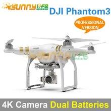 DJI Phantom3 Cuatro ejes Quadcopter Flyer 4 K Cámara De Alta Definición Profesional Versión con Batería Adicional