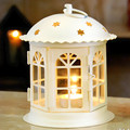 Valentine Iron Candlestick Small Star Retro Classic Moroccan Home Decor lantern Ornaments Wedding