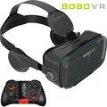 Bobovr z4 mini caixa com fone de ouvido bluetooth óculos de realidade virtual 3d vr vr google papelão para 4.7-6.0 polegada smartphones
