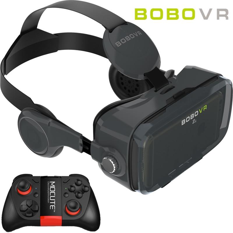 Bobovr z4 mini caja con bluetooth headset gafas de realidad virtual 3d vr vr goo