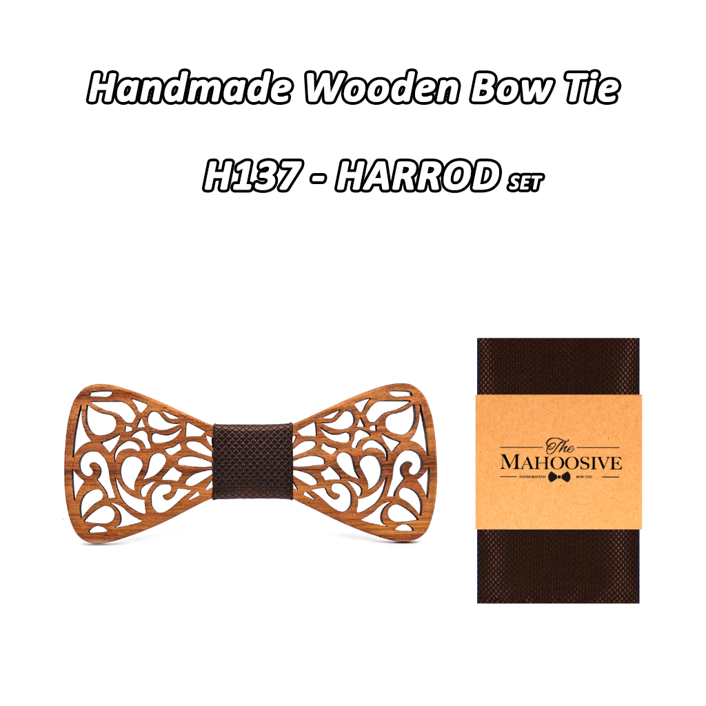 Mahoosive New Floral Wooden Bow Ties for Males Bowtie Hole Butterflies Marriage ceremony go well with picket bowtie Shirt krawatte Bowknots Slim tie HTB1b3v6gYsrBKNjSZFpq6AXhFXaG