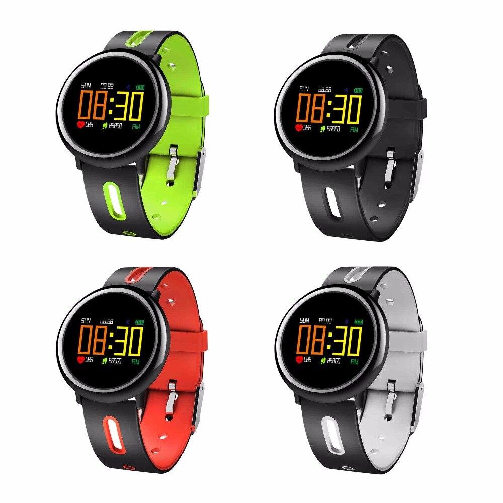 QIACHIP Smart Horloge GPS Running Bluetooth 4.0 Sport Smart Horloge Hartslagmeter Waterdicht Android iOS Afstandsbediening Camer