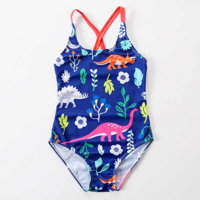 0b5a51251 Niños trajes de baño de las niñas una pieza animal Bikini niños traje de  baño para