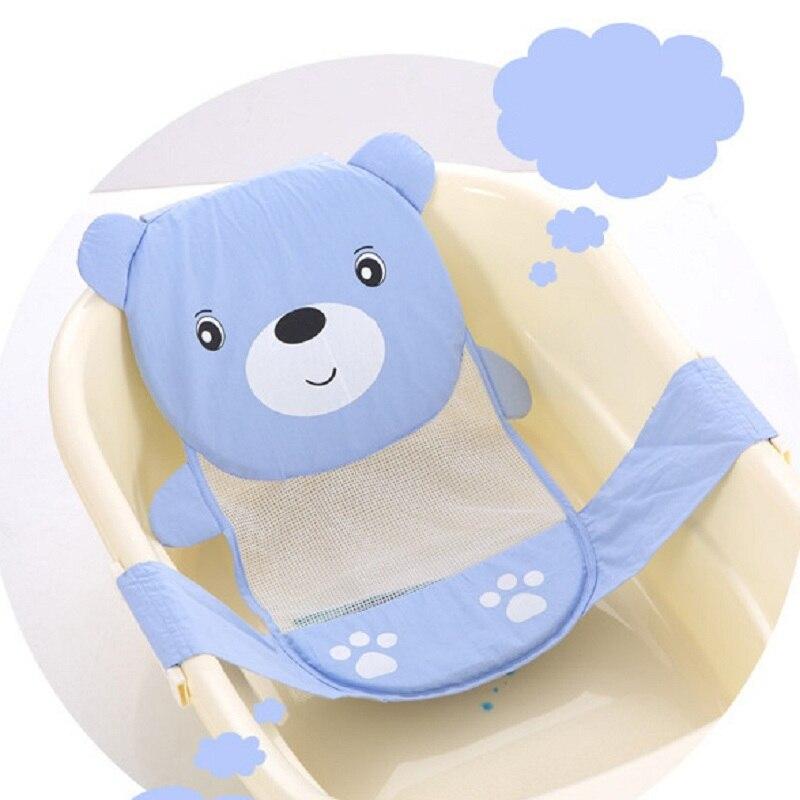 Adjustable baby bathtub Plastic cartoon pattern Newborn Safety Security