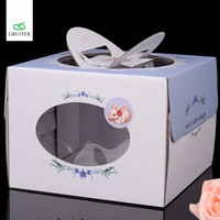 Neto Free Rabbit Type DIY Wedding Gift Favor Box Party Candy Box Packaging Cheese Cake Box