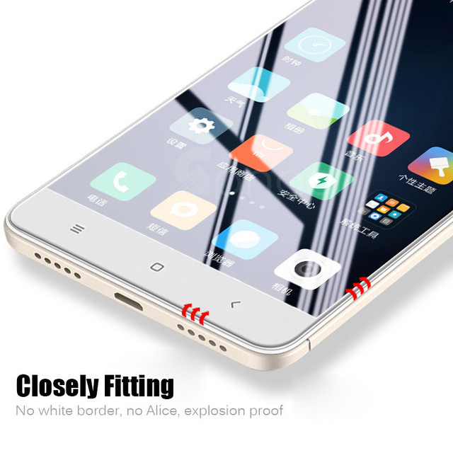 Protective Glass For Xiaomi Redmi 4x Note 4 Screen Protector...