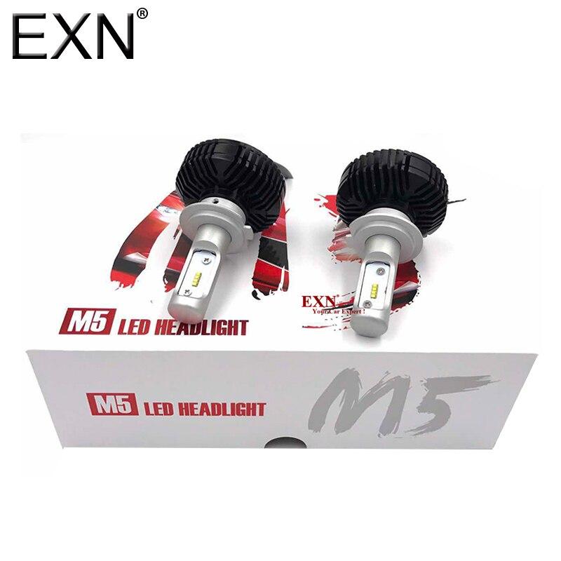M5 LED Headlight Conversion Kit H7 32W 5600LM High Quality Chip LED Headlight Bulb Cars Replace Halogen & HID Bulbs H7 LED Bulb