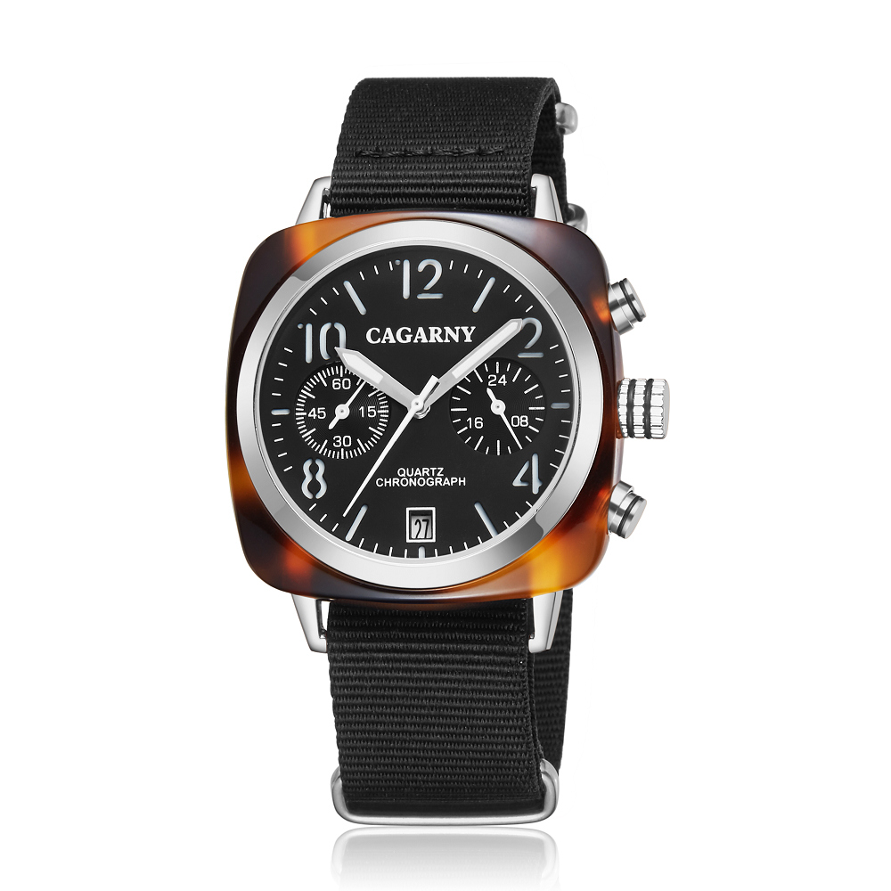 2019 Classic Chronograph Quartz Watches androgynous Fashion Watch His or Hers Wristwatch for Men Women Lovers Wedding Romantic Gift  (17)