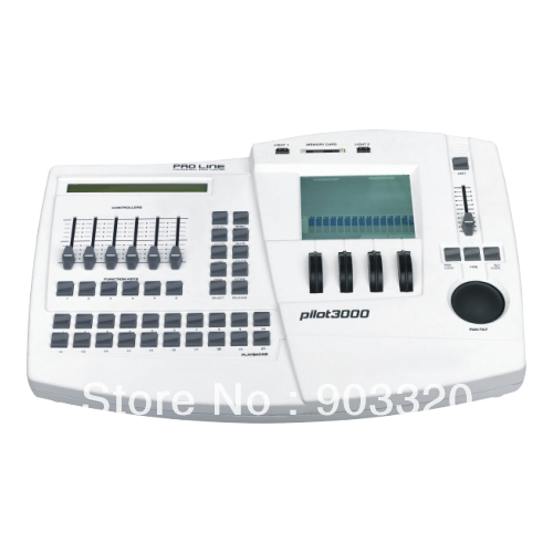 Hot White Case Pilot 3000 DMX Computer Controller,1024 channels ,Grand master fader+DBO keys DJ Console For Stage Light конвектор polaris pch 1024 white