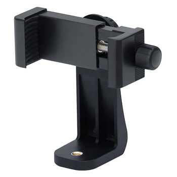 360 Degree Rotation Tripod Mount Holder Cell Phone Stand Bracket Clip Mount Bracket Adapter for Mobile Phones Smartphone 1