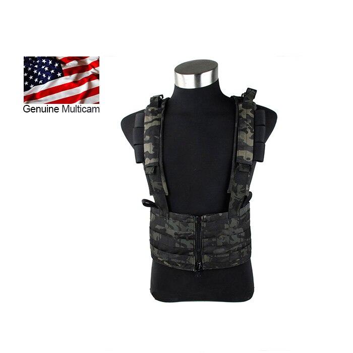 2016 Multicam Black SNIPER Chest Rack MCBK Tactical MOLLE chest rig CP