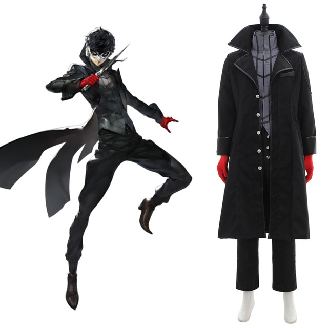 Cosplaydiy Anime Persona 5 Ren Amamiya Cosplay Costume P5 Adult Mens Halloween Costume L320
