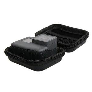 Image 2 - Mini Bag Box Case for GoPro Hero 8 7 6 4 3+ black Session Xiaomi YI 4K SJCAM EKEN SOOCOO for Go pro Action Camera Accessories