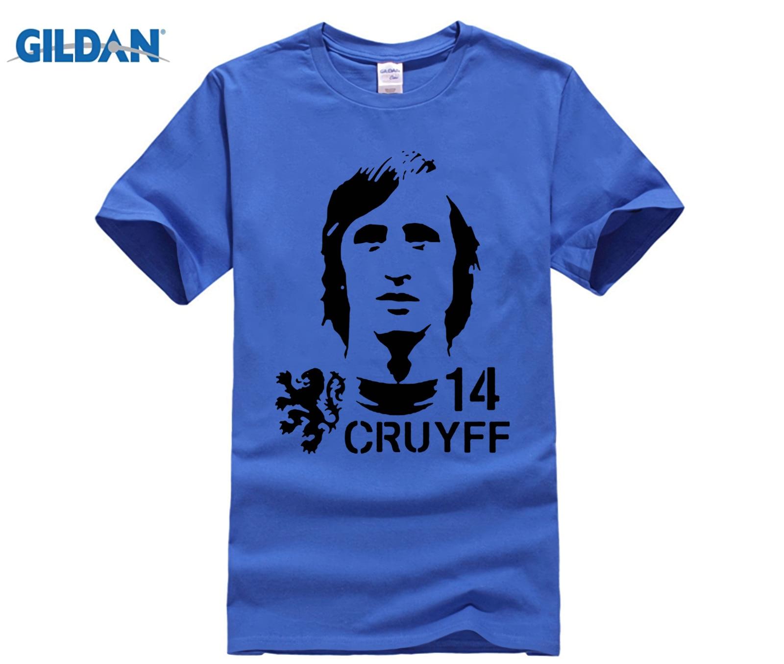 funny men t shirt Hendrik Johannes Cruyff Holland Nederland Ajax  The Godfather 100% cotton t shirt