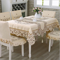 Europe Polyester Tablecloth Embroidered Tablecloth Square Floral Home Hotel Wedding Table Cover Decorative toalha de mesa