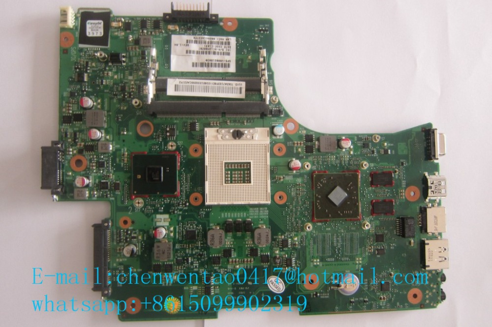 L655 L650  non-integrated motherboard for T*oshiba laptop L655 L650 V000218030  6050A2332301-MB-A02 l510 integrated motherboard for t oshiba laptop l510 v000175210