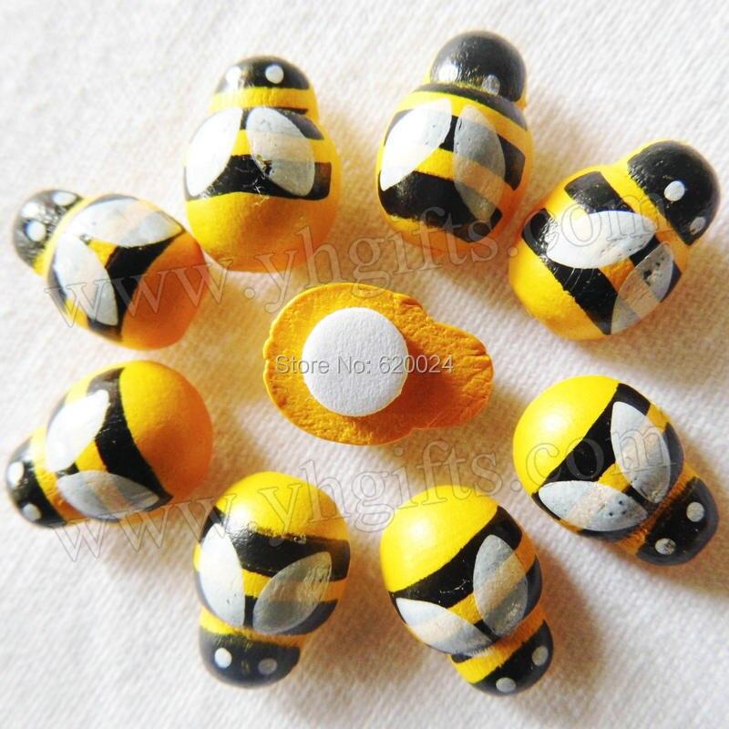 Mix выбор: Дерево Мини-желтый Bee наклейки, 3D наклейки, пасхальное украшение, украшение дома, детский сад поставки, детские игрушки, oem