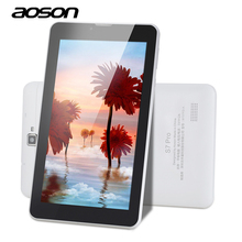 Latest 7 Inch S7 Pro Aoson 2G 3G 4G Wifi Phone Call Tablet PC 8GB ROM Quad Core 1024*600 IPS Screen Bluetooth Camera GPS Phablet
