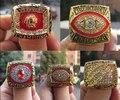FreeShipping 1972 1982 1983 1987 1991 Washington Redskins Super Bowl championship ring One Set 5 Together Fan Brithday Gift