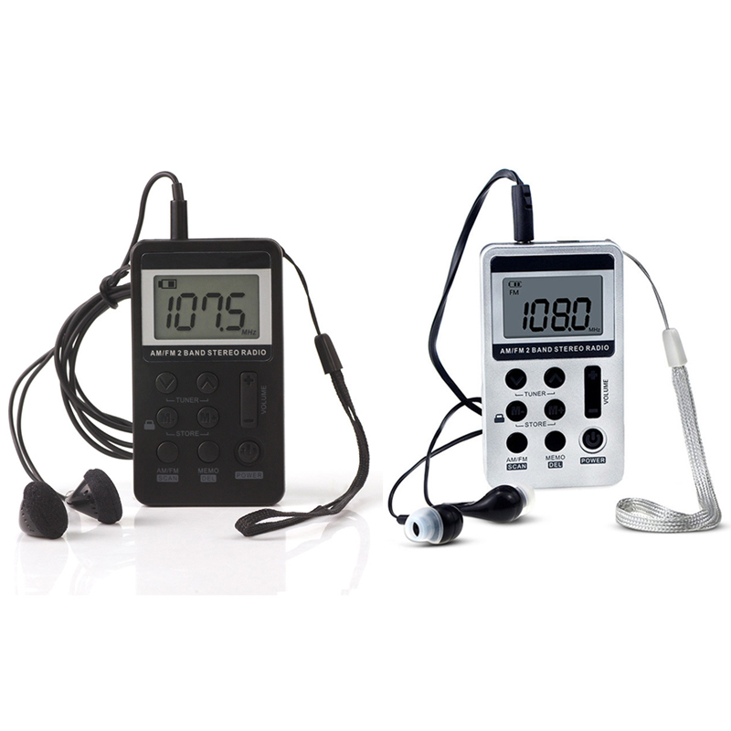 Tragbares Audio & Video Humor Tragbare Mini Tragbare Radio Fm/am Digital-receiver Mit Akku & Kopfhörer Radio Radio Lanyard