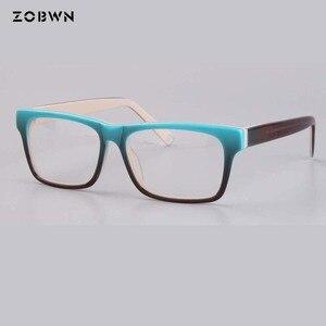 Image 3 - ZOBWN ผสมขายส่ง Vintage Designer กรอบแว่นตาผู้หญิงแว่นตา Clear Lens กรอบแว่นตาผู้หญิง oculos de grau feminino