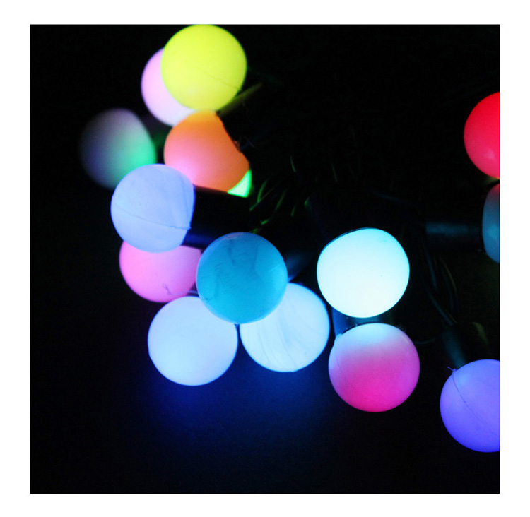 5M 10M led string lights with 50led ball AC220V holiday decoration lamp Festival Christmas lights outdoor lighting