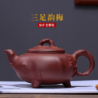 Cao Zhigang, Teapot Craftsman of Artificial Decorated Teapot and Teaware in Yixing Zishahuyuan Mine