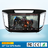 9 2 Din Android 6 0 Car DVD Player HD Touch Screen For HYUNDAI IX25 2014