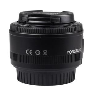 Image 2 - YONGNUO YN50mm YN50 F1.8 عدسة الكاميرا EF 50 مللي متر AF MF العدسات لكانون المتمردين T6 EOS 700D 750D 800D 5D مارك II IV 10D 1300D Yongnuo
