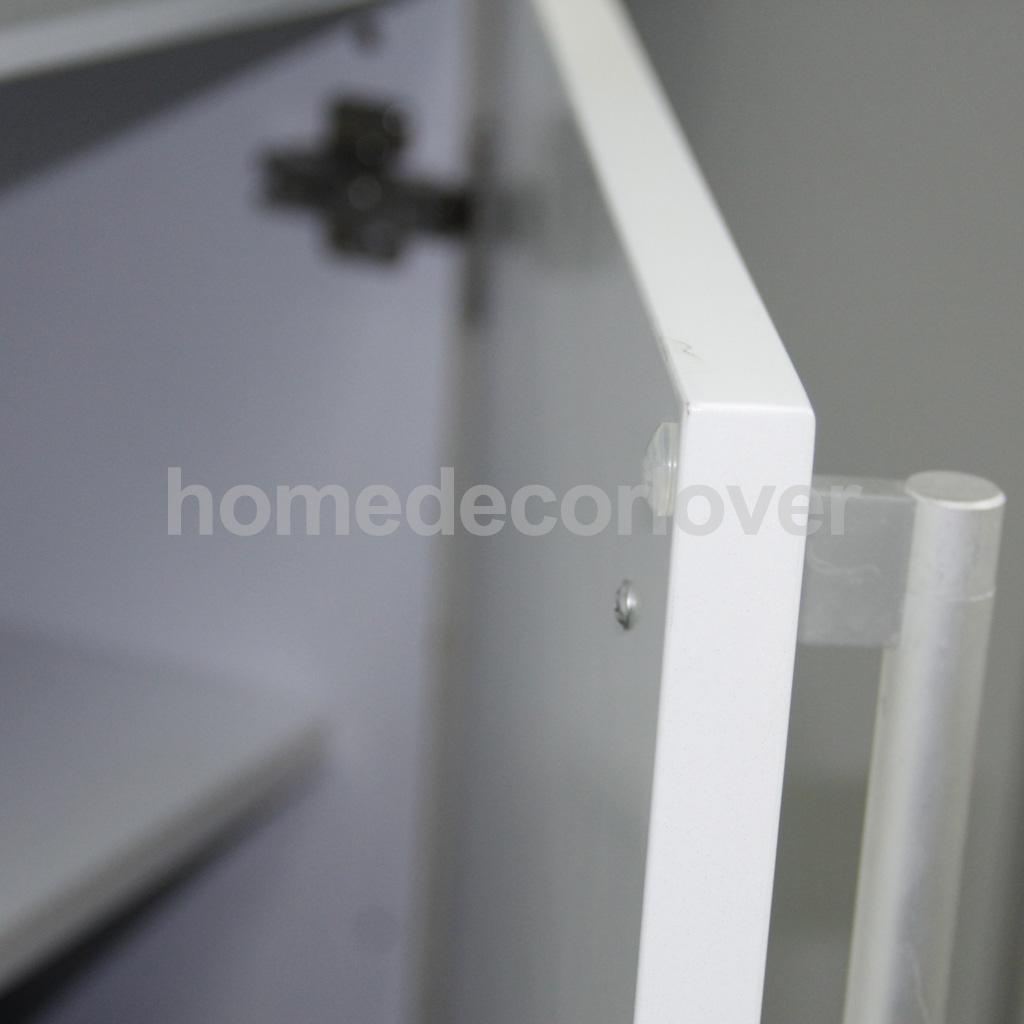 100pcs Self-Adhesive Rubber Feet Semicircle Clear Bumpers Door Furniture Pad ...
